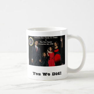 President Elect Obama First Family Presidential... Coffee Mugs
