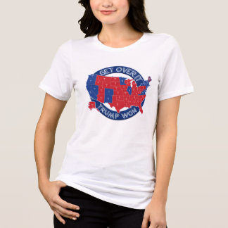 President Elect Trump Won Red White Blue T-Shirt