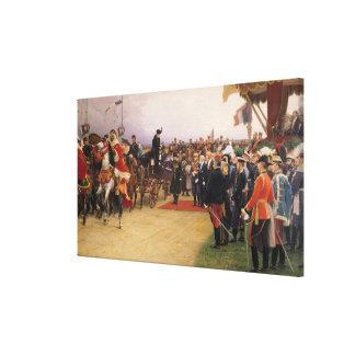President Emile Loubet Canvas Print