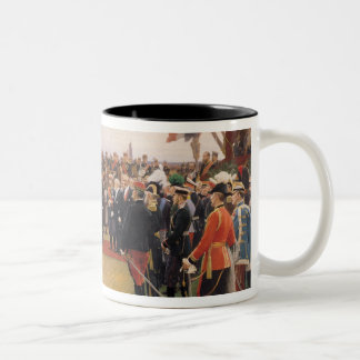 President Emile Loubet Two-Tone Coffee Mug