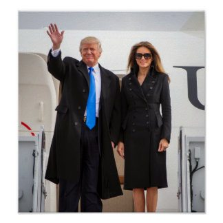 President & First Lady Trump Poster