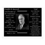 President Franklin D Roosevelt Postcard