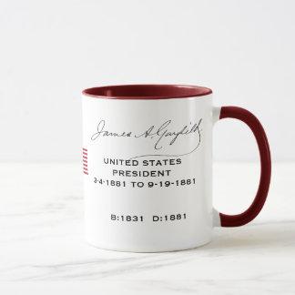 President Garfield* Mug