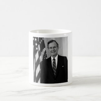 President George H. W. Bush Basic White Mug