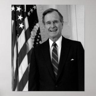 President George H. W. Bush Poster