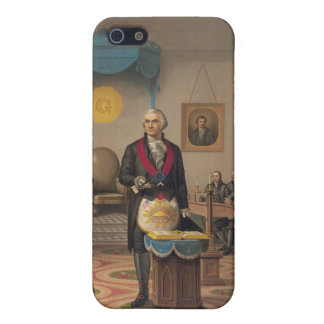 President George Washington as a Master Mason Covers For iPhone 5