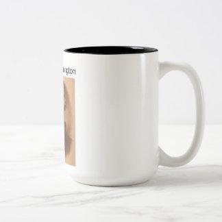 President George Washington Coffee Mug! Two-Tone Mug