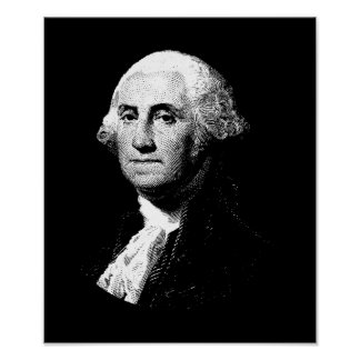 President George Washington Graphic Poster