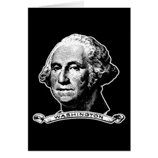 President George Washington Greeting Card