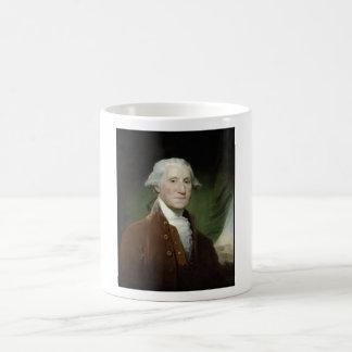 President George Washington Painting Basic White Mug