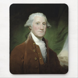 President George Washington Painting Mouse Pads