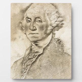 President George Washington Photo Plaques