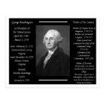 President George Washington Postcards