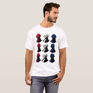 President George Washington - Red, White, and Blue T-Shirt