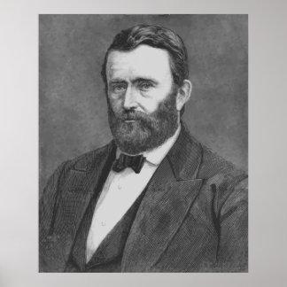 President Grant Sketch Print