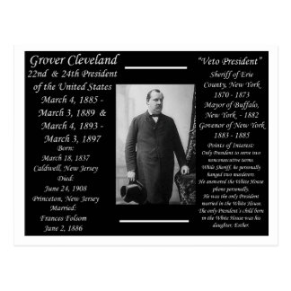 President Grover Cleveland Postcard
