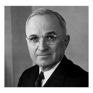 President Harry S. Truman Posters