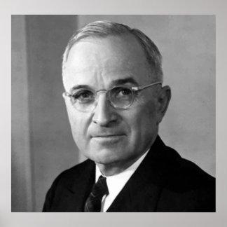 President Harry S. Truman Poster