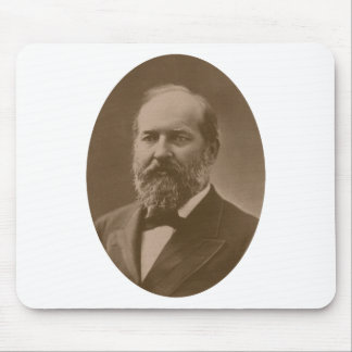 President James Garfield Mouse Pads