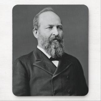 President James Garfield Mousepads