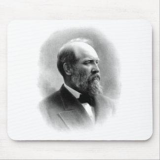 President James Garfield Mousepad