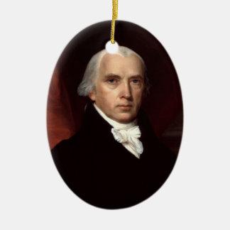 President James Madison Ornament