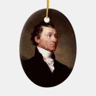 President James Monroe Ornament