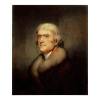 President Jefferson Painting Poster