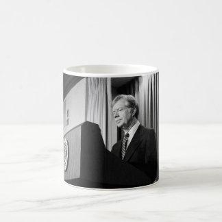 President Jimmy Carter Basic White Mug