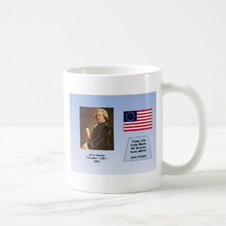 PRESIDENT JOHN ADAMS COFFEE MUG
