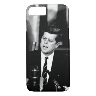 President John F. Kennedy Men to the Moon Speech iPhone 7 Case
