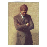 President John F Kennedy Official Portrait Greeting Card