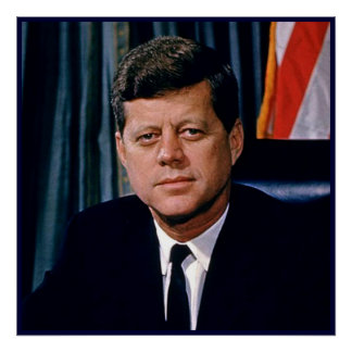 President John F. Kennedy Print