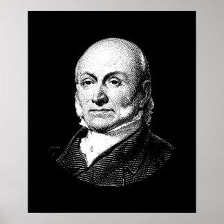 President John Quincy Adams Graphic Poster