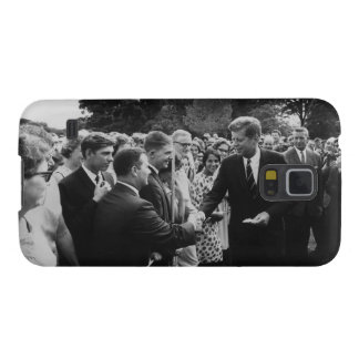 President Kennedy Greets Peace Corps Volunteers Case For Galaxy S5