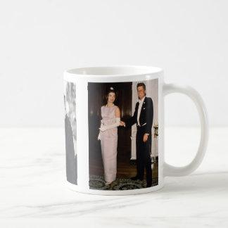 President Kennedy , JFK and Jackie, jfk Basic White Mug