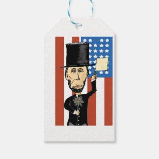 President Lincoln Custom Gift Tags