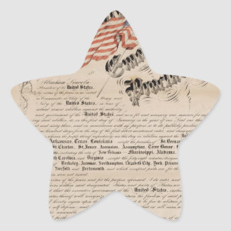 President Lincoln s emancipation proclamation 2 Star Stickers