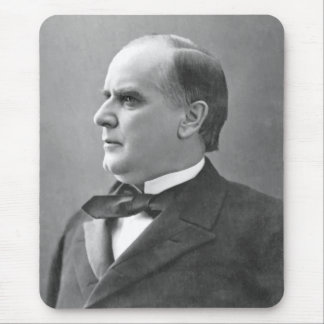 President McKinley Mouse Pads