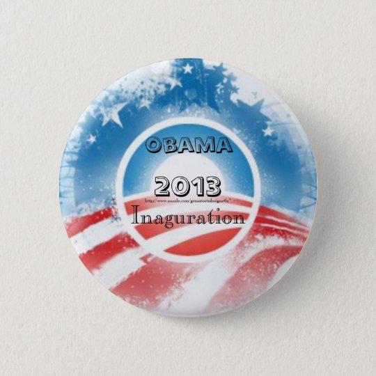 President Obama 2013 Inauguration 6 Cm Round Badge