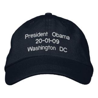 President Obama 20-01-09 Washington DC Embroidered Hat