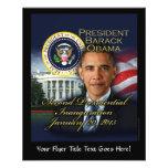 President Obama 2nd Inauguration 11.5 Cm X 14 Cm Flyer