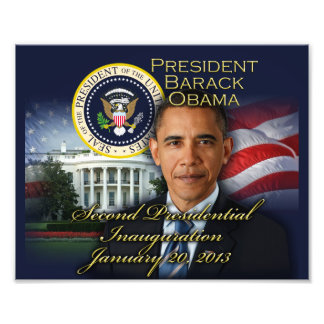 President Obama 2nd Inauguration Art Photo