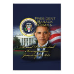 President Obama 2nd Inauguration Personalized Announcement