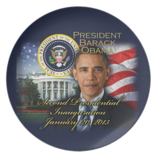 President Obama 2nd Inauguration Plate