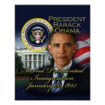 President Obama 2nd Inauguration Poster