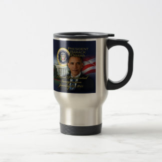 President Obama 2nd Inauguration Travel Mug