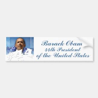 President Obama #44 Bumper Sticker