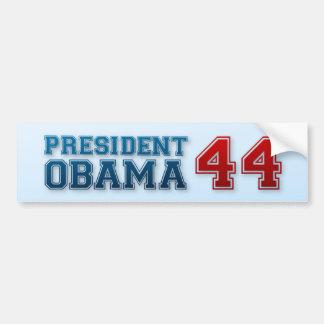 President Obama 44 Bumper Sticker
