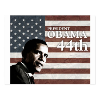 president Obama 44th c1 Postcard